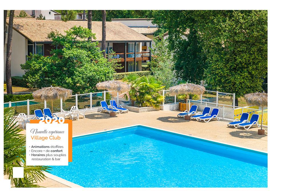 village club 4 etoiles piscine ronce les bains