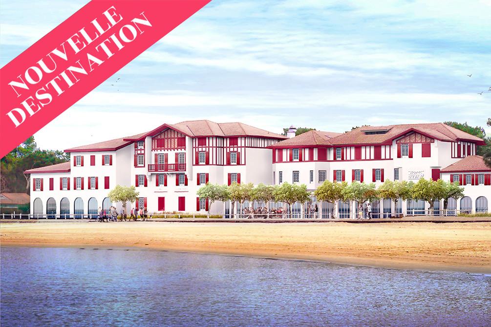 vacances location et sport hossegor lac hotel du parc